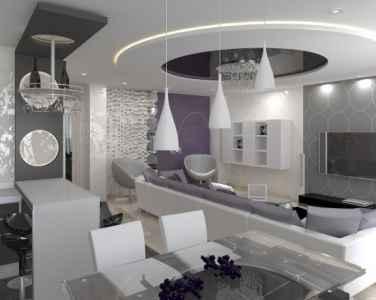 двухуровневый натяжной потолок цена в Минске